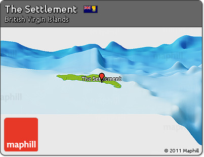 Physical Panoramic Map of the Settlement