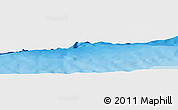 """Physical Panoramic Map of the area around 18°51'53""""N,65°22'30""""W"""
