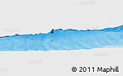 """Political Panoramic Map of the area around 18°51'53""""N,65°22'30""""W"""