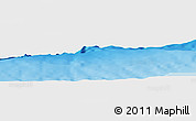 """Shaded Relief Panoramic Map of the area around 18°51'53""""N,65°22'30""""W"""