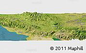 "Satellite Panoramic Map of the area around 18°51'53""N,72°10'30""W"