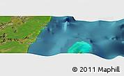 "Satellite Panoramic Map of the area around 18°51'53""N,87°28'29""W"