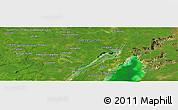"Satellite Panoramic Map of the area around 18°51'53""N,88°19'29""W"