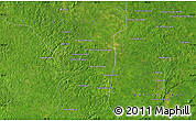 """Satellite Map of the area around 18°51'53""""N,89°10'30""""W"""