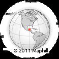 Outline Map of Graciano Sánchez, rectangular outline