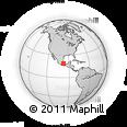 Outline Map of Malta 35, rectangular outline