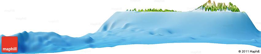 Physical Horizon Map of Farauo