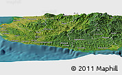 Satellite Panoramic Map of Nalele