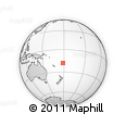 Outline Map of Nasoli, rectangular outline