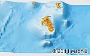 Political 3D Map of Lamiti