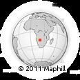 Outline Map of Sambio, rectangular outline