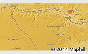 Physical 3D Map of Livingstone