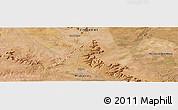 "Satellite Panoramic Map of the area around 18°1'4""S,28°58'30""E"