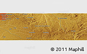 Physical Panoramic Map of Goromonzi