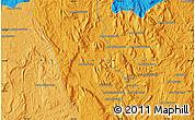 Political Map of Ampahibato
