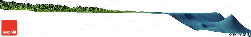 Satellite Horizon Map of Toamasina