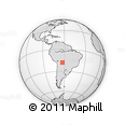 Outline Map of Segundo Anillo 3, rectangular outline