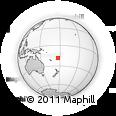 "Outline Map of the Area around 18° 31' 34"" S, 176° 52' 30"" E, rectangular outline"