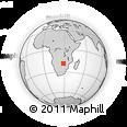 Outline Map of Mbungu Settlement, rectangular outline