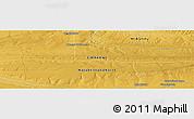 Physical Panoramic Map of Chief Sikobokobo