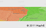 """Political Panoramic Map of the area around 18°31'34""""S,30°40'29""""E"""