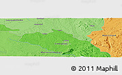 """Political Panoramic Map of the area around 18°31'34""""S,31°31'29""""E"""