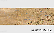 "Satellite Panoramic Map of the area around 18°31'34""S,31°31'29""E"