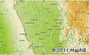 Physical Map of Abonara