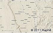 Shaded Relief Map of Abonara