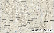 Shaded Relief Map of Alakamisy