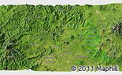 Satellite 3D Map of Los Reyes de Salgado