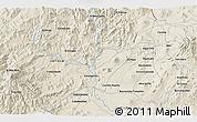 Shaded Relief 3D Map of Los Reyes de Salgado