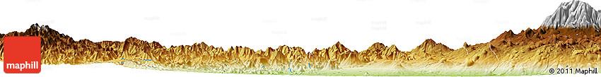 Physical Horizon Map of Los Reyes De Salgado