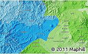 Political Map of Los Reyes de Salgado