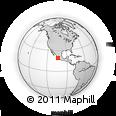 Outline Map of Buen Pais, rectangular outline
