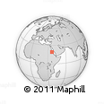 """Outline Map of the Area around 19° 22' 18"""" N, 36° 37' 30"""" E, rectangular outline"""
