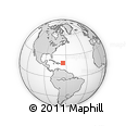 """Outline Map of the Area around 19° 22' 18"""" N, 64° 31' 30"""" W, rectangular outline"""