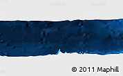 """Shaded Relief Panoramic Map of the area around 19°22'18""""N,66°13'29""""W"""