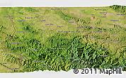 Satellite 3D Map of La Patilla