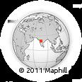 Outline Map of Rui, rectangular outline