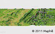 "Satellite Panoramic Map of the area around 19° 52' 38"" N, 100° 22' 30"" E"