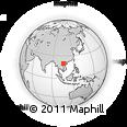 Outline Map of Thanh Hóa, rectangular outline