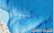 """Shaded Relief Map of the area around 19°52'38""""N,154°37'30""""W"""