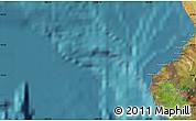Satellite Map of Aloha Kona