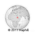 """Outline Map of the Area around 19° 52' 38"""" N, 36° 37' 30"""" E, rectangular outline"""