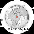 Outline Map of Port Sudan, rectangular outline