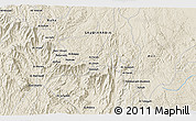 Shaded Relief 3D Map of Āl `Alyān