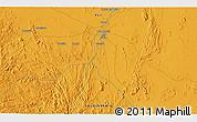 Political 3D Map of Abū Shawk