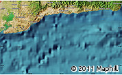 """Satellite Map of the area around 19°52'38""""N,74°43'29""""W"""