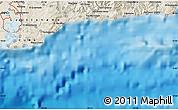 Shaded Relief Map of Glorieta